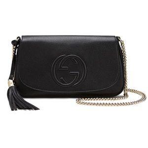 Gucci Soho Disco Black Crossbody Shoulder Bag